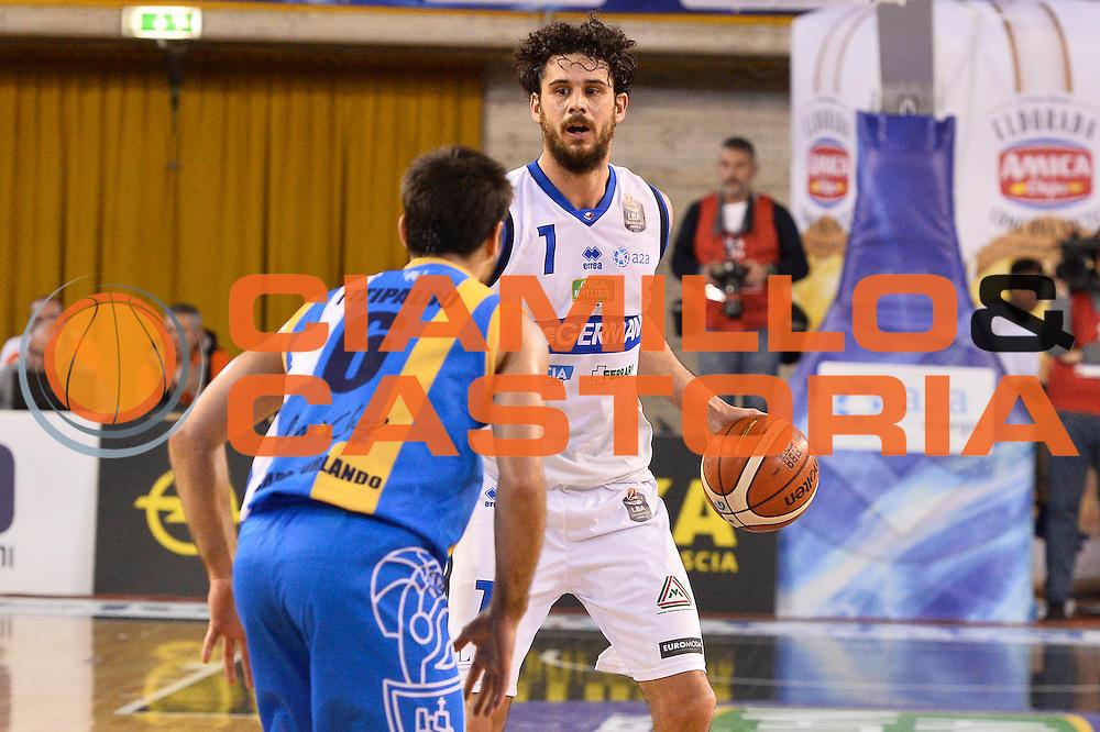 Luca Vitale<br />Germani Basket Brescia - Betaland Capo D'Orlando<br />LegaBasket 2016/2017<br />Brescia 05/11/2016<br />Foto Ciamillo-Castoria