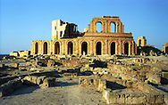 Libia  Sabratha .Città  romana a circa 67km da Tripoli.Teatro Romano.<br /> Sabratha Libya.Roman city about 67km from Tripoli. Roman Theatre