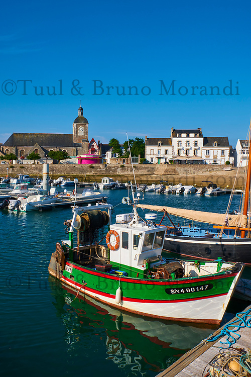 France, Loire-Atlantique (44), Piriac-sur-Mer, le port // France, Loire-Atlantique, Piriac-sur-Mer, the port