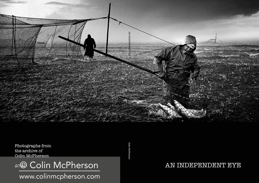 'An Independent Eye', a photo book published in 2016. <br /> <br /> It was published to mark the end of print publishing of the Independent and Independent on Sunday newspapers, who I had worked for as a freelance on assignments and commissions from 1995 until 2016.<br /> <br /> Photo shows: Front and back covers.<br /> <br /> It was self-published the same year in an edition of 250.