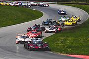 May 5, 2019: IMSA Weathertech Mid Ohio. Start of the IMSA Mid Ohio race led by #77 Mazda Team Joest Mazda DPi, DPi: Oliver Jarvis, Tristan Nunez, Timo Bernhard, Rene Rast