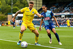 James Clarke of Bristol Rovers takes on Randell Williams of Wycombe Wanderers - Mandatory by-line: Robbie Stephenson/JMP - 18/08/2018 - FOOTBALL - Adam's Park - High Wycombe, England - Wycombe Wanderers v Bristol Rovers - Sky Bet League One
