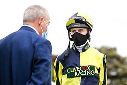 Jockey Finley Marsh - Mandatory by-line: Robbie Stephenson/JMP - 06/08/2020 - HORSE RACING - Bath Racecourse - Bath, England - Bath Races