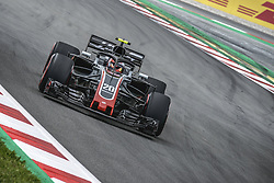 May 13, 2018 - Barcelona, Catalonia, Spain - KEVIN MAGNUSSEN (DAN) drives during the Spanish GP at Circuit de Barcelona - Catalunya in his Haas VF-18 (Credit Image: © Matthias Oesterle via ZUMA Wire)