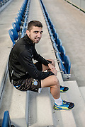 10.04.2014; Niederhasli; Fussball Super League; Portrait Munas Dabbur; Portrait Munas Dabbur (GCZ) (Valeriano Di Domenico/freshfocus)