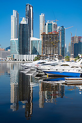 New Marasi Marina on The Creek in Business Bay in Dubai, United Arab Emirates