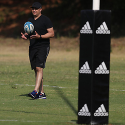 PRETORIA, SOUTH AFRICA - OCTOBER 05: General views during the Rugby Championship New Zealand All Blacks captain's run at St David's Marist Inanda 36 Rivonia Rd, Sandown, Sandton,on October 5, 2018 in Pretoria, South Africa. (Photo by Steve Haag/Getty Images)