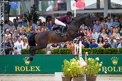 Karlsson Mathilda, SWE, Chopiojn VA<br /> Grand Prix Rolex powered by Audi <br /> CSI5* Knokke 2019<br /> © Hippo Foto - Dirk Caremans<br /> Karlsson Mathilda, SWE, Chopiojn VA