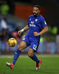 "Cardiff City's Liam Feeney during the Sky Bet Championship match at The Den, London. PRESS ASSOCIATION Photo. Picture date: Friday December 29, 2017. See PA story SOCCER Cardiff. Photo credit should read: Nick Potts/PA Wire. RESTRICTIONS: EDITORIAL USE ONLY No use with unauthorised audio, video, data, fixture lists, club/league logos or ""live"" services. Online in-match use limited to 75 images, no video emulation. No use in betting, games or single club/league/player publications."