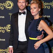 NLD/Amsterdam/20181011 - Televizier Gala 2018, Jennifer Hoffman en partner Dorian