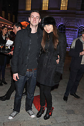 LETITIA HEROD and RON BRAY at the opening of the 2012 Somerset House Ice Rink on 15th November 2012.