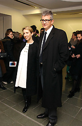 JAY JOPLING and his wife SAM TAYLOR-WOOD at an exhibition of leading artist Ellsworth Kelly at the Serpentine Gallery, Kensington Gardens, London followed by a dinner at the Riverside Cafe, London on 17th March 2006.<br /><br />NON EXCLUSIVE - WORLD RIGHTS