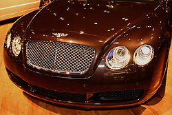 08 February 2007: 2007 Bentley Continental GT. The Chicago Auto Show is a charity event of the Chicago Automobile Trade Association (CATA) and is held annually at McCormick Place in Chicago Illinois.
