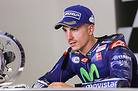 Maverick Vinales of Spain and Movistar Yamaha MotoGP second during the press conference after MotoGP Italy Grand Prix 2017 at Autodromo del Mugello, Florence, Italy on 4th June 2017. Photo by Danilo D'Auria.<br /> <br /> Danilo D'Auria/UK Sports Pics Ltd/Alterphotos