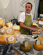 Carlos Helguera runs The Riverside Diary/Elvekanten Ysteri) with his family, in Namsskogan, Norway. Locally produced cheese.