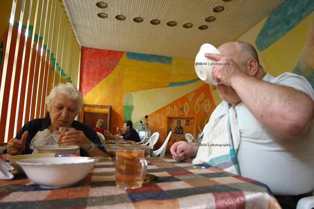 Eine Armenküche in Tiflis, Georgien. - A poor peoples canteen in Tbilisi, Georgia