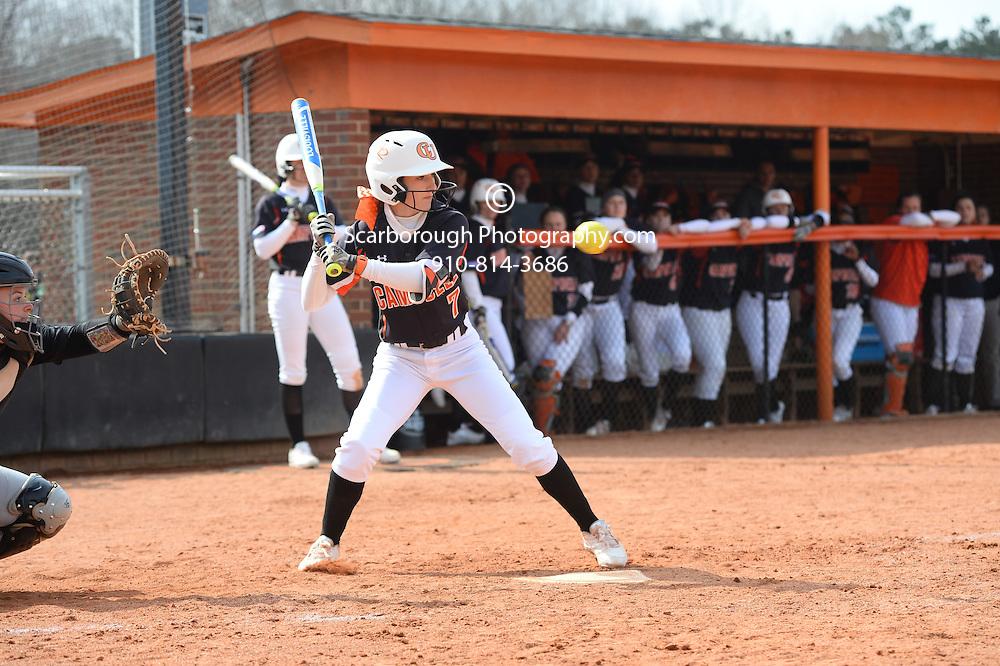 BUIES CREEK, NC - MARCH 5th, 2016 Campbell University Softball vs App St