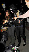 03.APRIL.2007. LONDON<br /> <br /> NOEL FIELDING LEAVING PEACHES GELDOF'S 18TH FANCY DRESS BIRTHDAY PARTY, AND PICKS UP ABI TITIMUS OFF THE FLOORWHILE SHE PRETENDS TO BE A PAPARAZZI.<br /> <br /> BYLINE: EDBIMAGEARCHIVE.CO.UK<br /> <br /> *THIS IMAGE IS STRICTLY FOR UK NEWSPAPERS AND MAGAZINES ONLY*<br /> *FOR WORLD WIDE SALES AND WEB USE PLEASE CONTACT EDBIMAGEARCHIVE - 0208 954 5968*