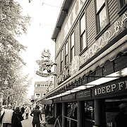 Shops near the Seattle waterfront - Seattle, WA