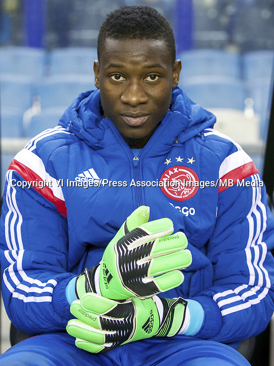 goalkeeper Andre Onana of Ajax during the Dutch Eredivisie match between Vitesse and Ajax at the Gelredome on february 1, 2015 in Arnhem, the Netherlands ... Soccer - Dutch Eredivisie - Vitesse Arnhem v Ajax Amsterdam - The Gelredome ... 01-02-2015 ... Arnhem ... Netherlands ... Photo credit should read: VI Images/VI Images. Unique Reference No. 22127463 ...