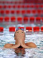 Federica PELLEGRINI CC Aniene <br /> 200 stile libero<br /> nuovo Record del Mondo 1.54.47<br /> 2009, 8 marzo<br /> Campionati Italiani Assoluti di Nuoto<br /> Riccione <br /> 04 - 08_marzo_2009<br /> Deepbluemedia.eu/G.Scala