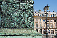 Place Vendôme Column Paris France in May 2008