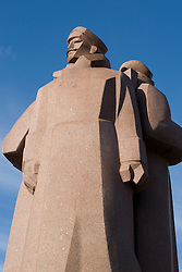 Latvia Riflemen Statue Riga, Latvia