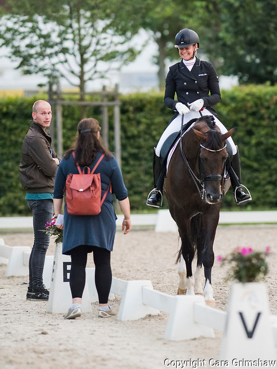 ANNA ZIBRANDTSEN (DEN) rides Arlando in the Dressage Grand Prix Special CDI at CHIO Aachen, Germany July 21 2017