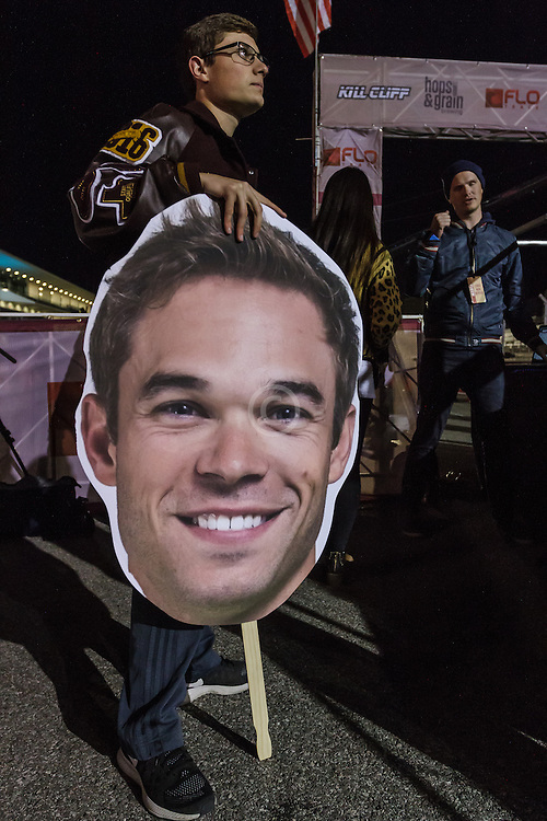 Beer Mile World Championships, Inaugural, Nick Symmonds fan