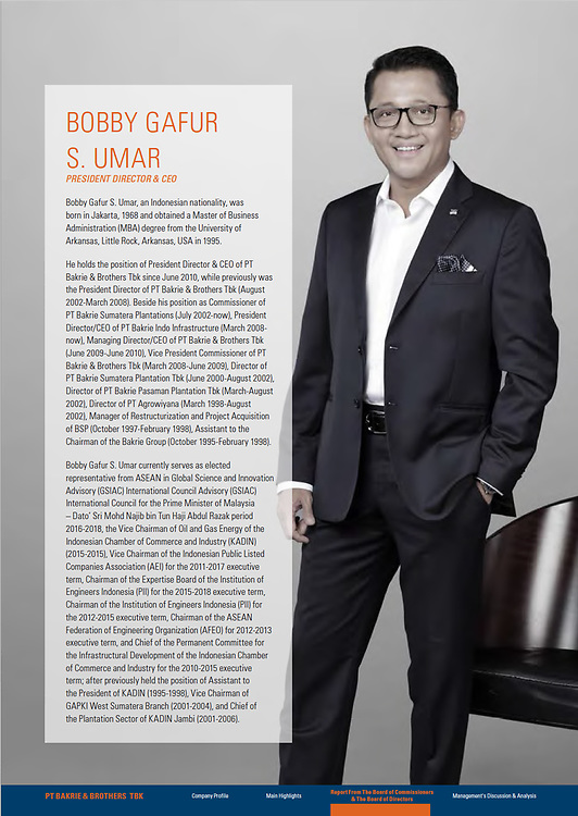 Bakrie & Brothers Annual Report