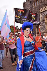 Pride 2017, Norwich UK, 29 July 2017