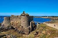 France, Vendée (85), Ile d'Yeu, le Vieux Chateau // France, Vendée, Yeu island, The Old Castle