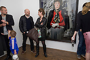 JUERGEN TELLER; HUSSEIN CHALAYAN; ALEXANDRA SCHIFFER, Cindy Sherman exhibition. Spruth Magers, London. Grafton st. London. Afterwards at Bellamy's, Bruton Place. 15 April 2009.  *** Local Caption *** -DO NOT ARCHIVE-© Copyright Photograph by Dafydd Jones. 248 Clapham Rd. London SW9 0PZ. Tel 0207 820 0771. www.dafjones.com.<br /> JUERGEN TELLER; HUSSEIN CHALAYAN; ALEXANDRA SCHIFFER, Cindy Sherman exhibition. Spruth Magers, London. Grafton st. London. Afterwards at Bellamy's, Bruton Place. 15 April 2009.