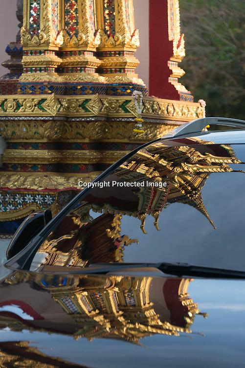 Thailand. Bangkok. Indian area Wat Ratchaburana