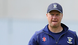 Durham's Head Coach Jonathan Lewis- Photo mandatory by-line: Harry Trump/JMP - Mobile: 07966 386802 - 13/04/15 - SPORT - CRICKET - LVCC County Championship - Day 2 - Somerset v Durham - The County Ground, Taunton, England.