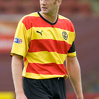Partick Thistle..... Season 2008-09<br /> Ian Maxwell<br /> Picture by Graeme Hart.<br /> Copyright Perthshire Picture Agency<br /> Tel: 01738 623350  Mobile: 07990 594431