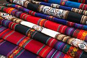 Fabric  Pisac market  Pisac, Peru