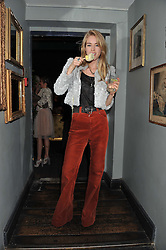 MARY CHARTERIS at a carnival themed party hosted by Stacey Bendet for the Alice & Olivia fashion label at Paradise, Kensal Green, London on 9th November 2011