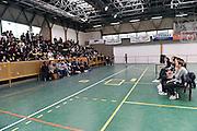 team<br /> Nazionale Femminile Senior in visita al Liceo Scientifico Sportivo E. Fermi di Lucca.<br /> FIP 2016<br /> Lucca, 18/11/2016<br /> Foto Ciamillo - Castoria