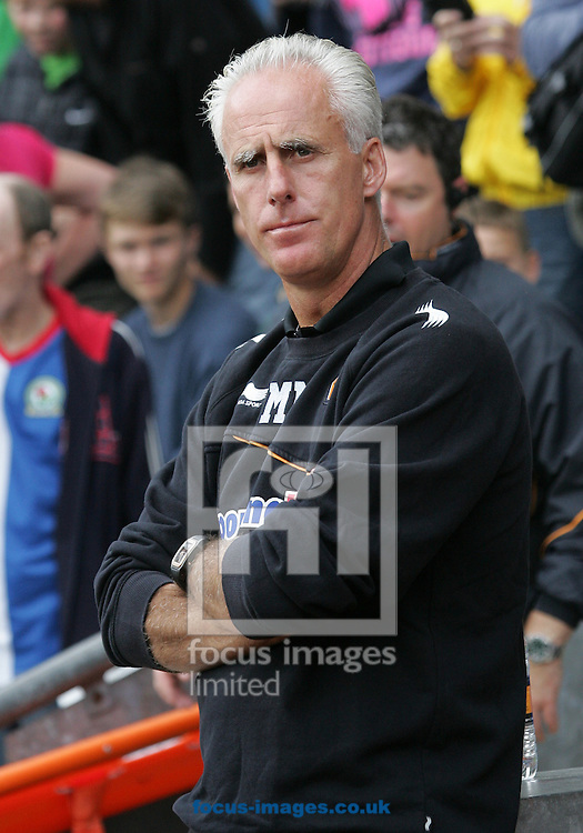 Picture by MIchael Sedgwick/Focus Images Ltd. 07900 363072.13/8/11.Mick McCarthy, manager of Wolves before the Barclays Premier League match against Blackburn at Ewood Park stadium, Blackburn, Lancashire.