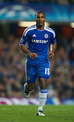 LONDON, ENGLAND - Wednesday, October 19, 2011: Chelsea's Florent Malouda in action during the UEFA Champions League Group E match at Stamford Bridge. (Photo by Chris Brunskill/Propaganda)