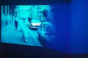 VENICE, ITALY..June 1997..47th Biennale of Venice.Cordiere..Video Installation 1997 by Pippilotti Rist..(Photo by Heimo Aga)