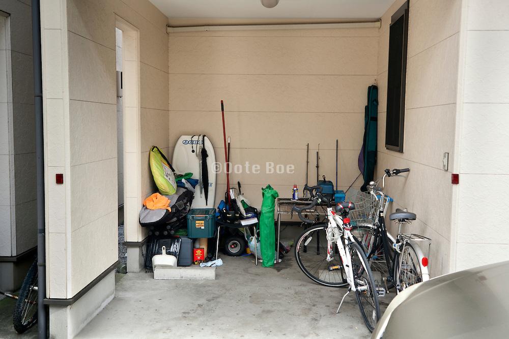 home garage storage Japan