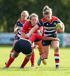 Amelia Buckland Hurry of Bristol Ladies in action - Rogan Thomson/JMP - 16/10/2016 - RUGBY UNION - Cleve RFC - Bristol, England - Bristol Ladies Rugby v Lichfield Ladies - RFU Women's Premiership.