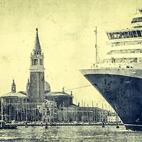 Ship in Venice, Italy