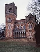 Schloss Rotenturm, Burgenland, Oesterreich / Castle in Rotenturm, Burgenland, Austria
