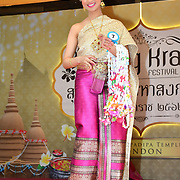 London, UK. 14th April, 2019. Miss Songkran London 2019 - Celebrates Thai New Year (Songkran) at Buddhapadipa Temple in Wimbledon known as Songkran Water Festival, London, UK.