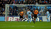 Photo: Leigh Quinnell.<br /> Coventry City v Ipswich Town. Coca Cola Championship.<br /> 19/11/2005. Ian Westlake scores the first goal for Ipswich.