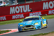 97 LMGTE Pro Aston Martin Racing / Aston martin Vantage V8 / Richie Stanaway / Fernando Rees / Jonny Adam during the FIA World Endurance Championships at Silverstone, Towcester, United Kingdom on 17 April 2016. Photo by Craig McAllister.