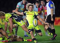 Rugby Union - 2017 / 2018 Aviva Premiership - Harlequins vs. Sale Sharks<br /> <br /> Faf De Klerk of Sale Sharks at The Stoop.<br /> <br /> COLORSPORT/ANDREW COWIE